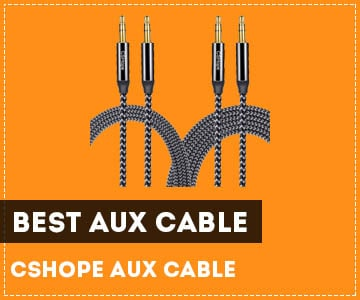 top aux cable